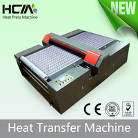 hot CE belt conveyor type image direct printing digital 100% cotton textile printer Heat Transfer Machine