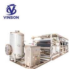 Automatic sludge belt press filter for industrial water treatment