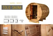 Outdoor sauna steam room waterproof mp3 player for sauna room cedar barrel sauna