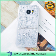 Clear Rubber Bling Skin Back Case Cover For Samsung Galaxy S Duos S7562 TPU Case