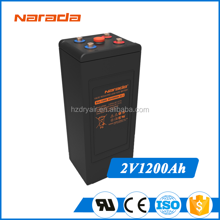 Extreme New Energy 2V 1200Ah Camera Digital Chilwee Battery