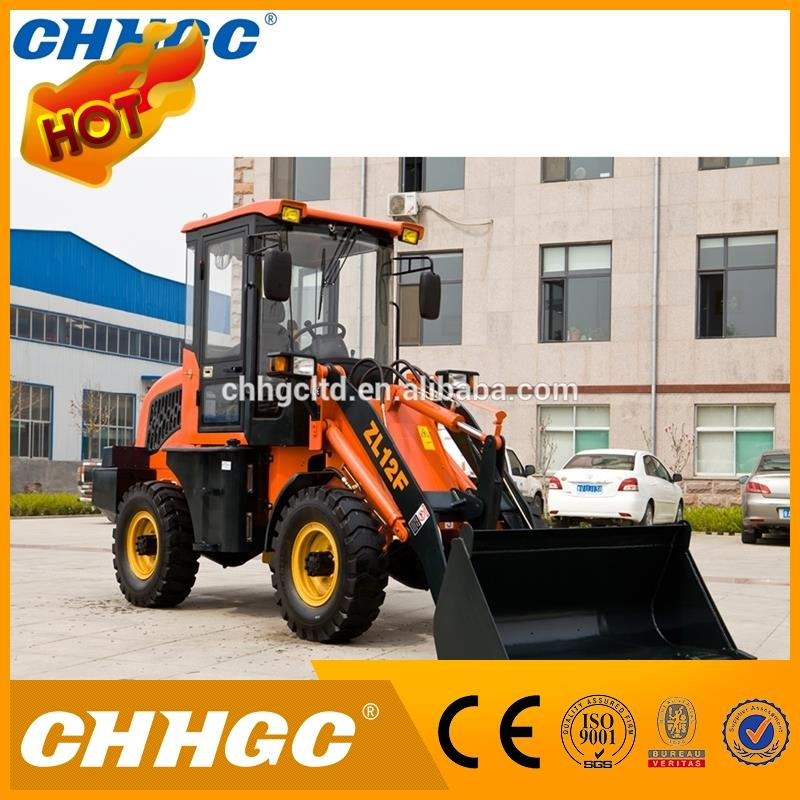 800kg 1 ton 1.2 ton 2 ton small front end loader mini front end loader for sale with competitive price