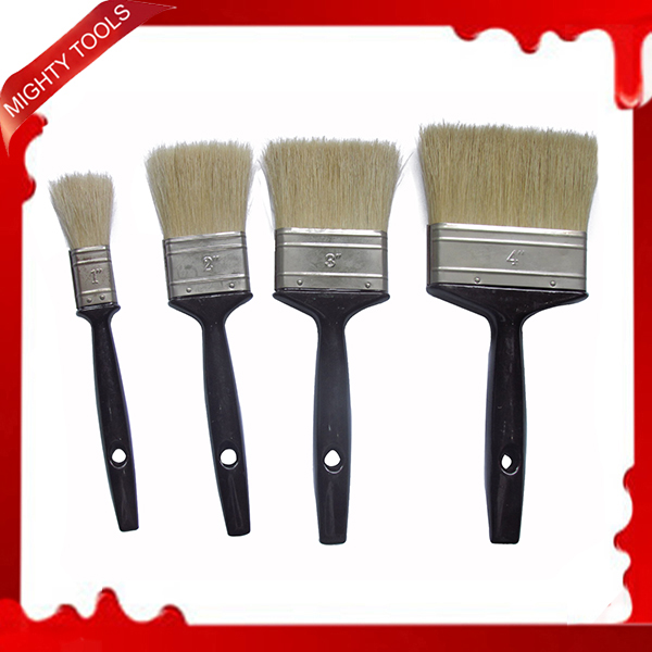 4pc/set Paint Brush Set Hot Sale Pinceau High Quality Painting Brush With Black Wooden Handle