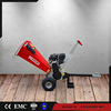 Europe standard CE approved advanced self powered 15HP Lifan Loncin engine best large commercial chipper shredder mulcher