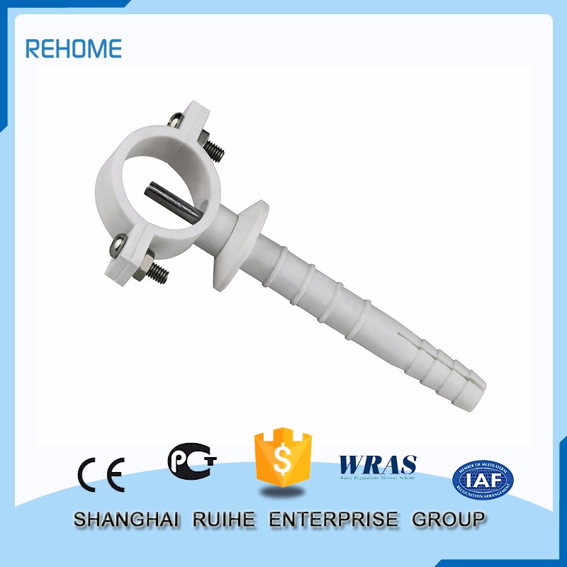 China Factory Low price Expansion Pipe Clamp ppr pipe fitting connection method