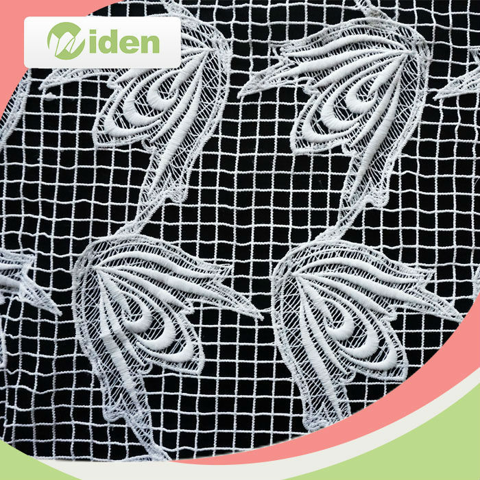 Wholesale 100 Polyester Chemical Lace Fabric in Market Dubai