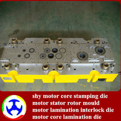 Automatic interlock lamination hard alloy stamping die/mould/tool for Electric fan motors core
