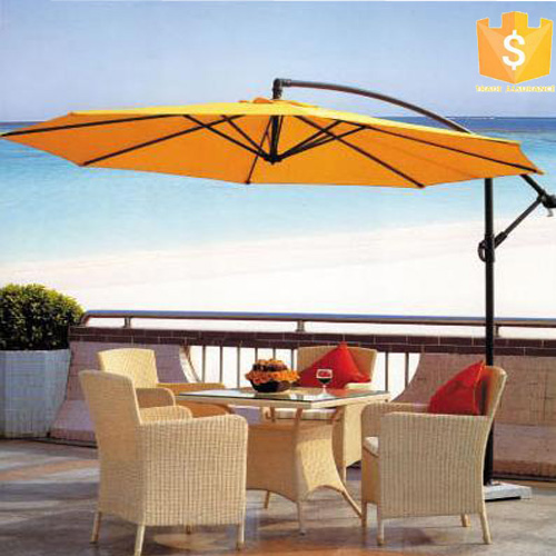 Aluminium Outdoor Garden Patio Umbrella Courtyard Umbrella