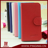 (In stock) Flip leather cover case for for lg optimus g pro e973 e975
