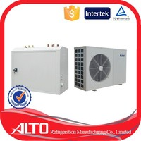 Alto AHH-R100 floor heating split type evi with evi compressor up to 13.5kw/h dc inverter heat pump