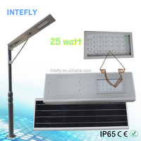 Newest supply solar flood light with solar panel