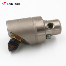 CNC boring tools, fine boring cutter structure with boring cutter head