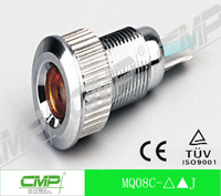 CMP 8mm LED lamp waterproof 12v railway indicator light