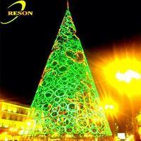 Garden lighting christmas felt topper tree decoration