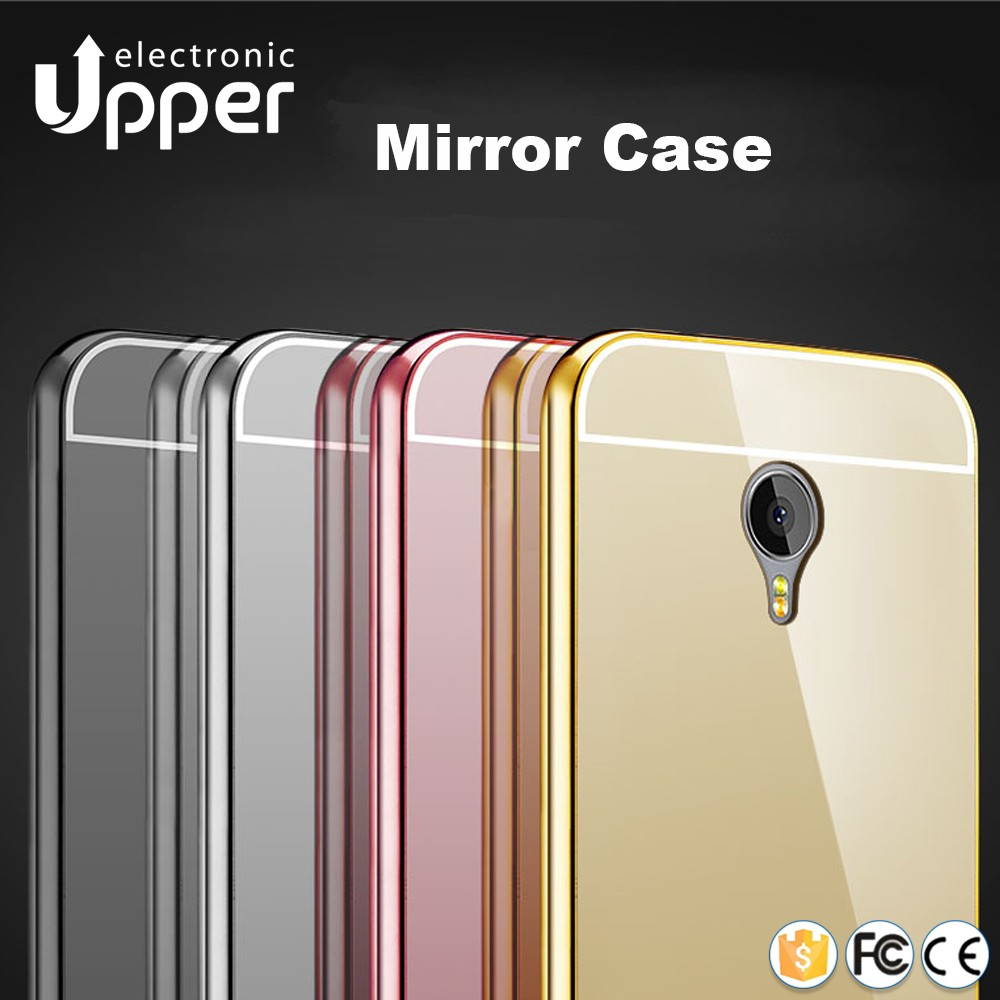 Electroplate phone accessory aluminum metal frame back bumper mobile phone case cover for meizu m2 note m2 mini 5.5 inch