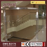 aluminum glass railing stainless steel railing accessories