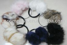 faux fur earwarmer,ear muff