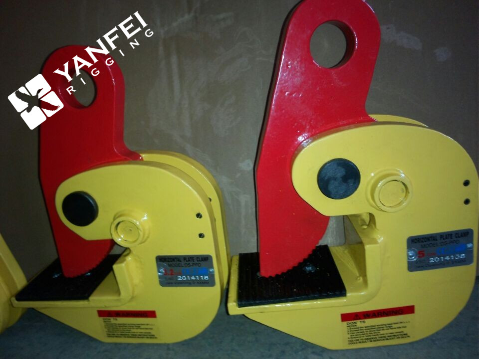 WLL 0.8-30Ton PDB Horizontal Beam Clamp For Lifting