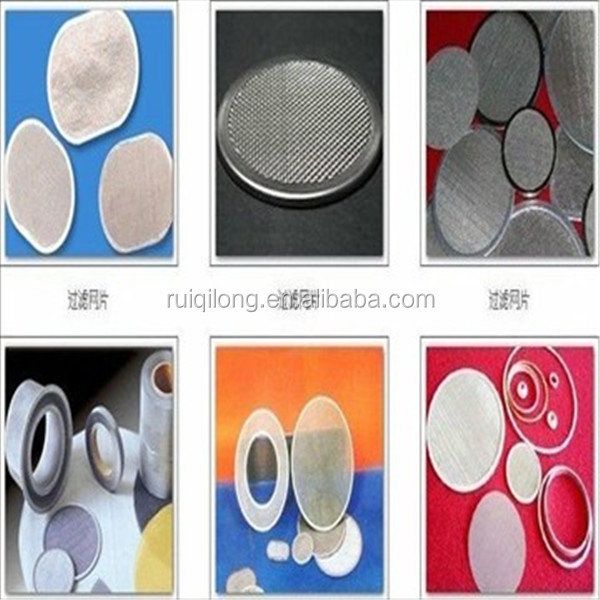 Anping factory Plastic Extruder Screens /Extruder Filter Disc with Single Layer , Multi Layer , Spot , Rim