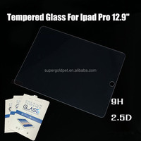 Best Selling Premium Anti- Scratch 2.5D tempered glass screen guard for ipad pro 12.9 Inch screen protector