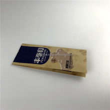 Accept custom food grade brown kraft paper beef jerky packaging bags