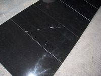 Hot selling Chinese Black Nero Marquina Spain Marble Big Slab Marble