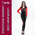 Top Quality Long Sleeves Sexy Racer Girl Jumpsuit Costume L15479
