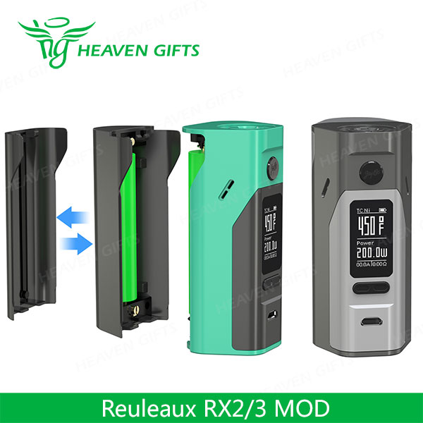 E cigarette ebay Replaceable Back Cover 150W & 200W WISMEC Reuleaux RX23 MOD