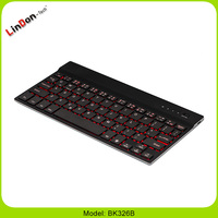 Hot selling wireless bluetooth keyboard for iPad air 2 keyboard arabic spanish french language OEM welcome