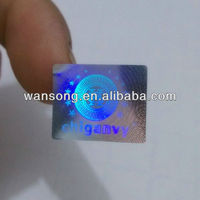 Promotional cheap custom hologram sticker for watch