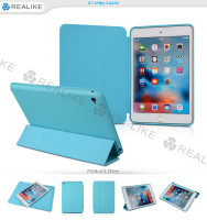 Trifold magnet case cover for ipad mini 4, welcome oem design