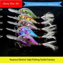 New Various Color Minnow 3D Eyes Hot Sale Hard Big Game Fishing Lures