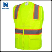 ANSI Surveyor yellow Reflective safety Clothing Safety Vest