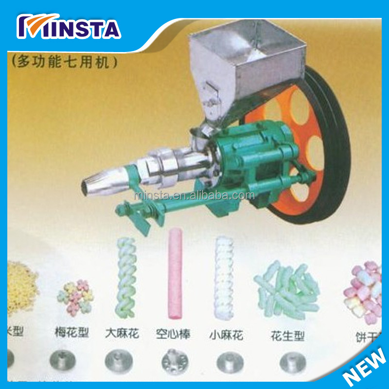 Snack Pellet Extruder/Snacks Puffed Corn Snacks Making Machine