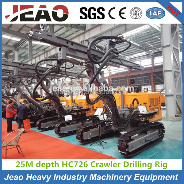 Top Quality in China !!! HC726A Crawler Type Down The Hole Drilling Rig