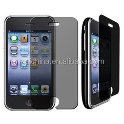 Privacy screen protective film/ guard for cell phone LCD screen
