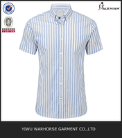 custom short sleeve button up shirts men
