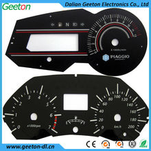 Silk Screen Printing Plastic Digital Speedometer Auto Instrument Cluster