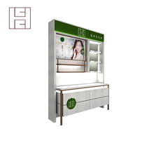 Cheap And Fine Supermarket Makeup Wooden Display Shelf