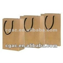 mini gift brown kraft paper bags