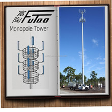 Manufactured monopole tower, Galvanized wifi Tower
