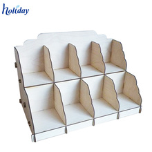 2 Shelves Counter Top Display Retail Pop Cardboard Tabletop Soap Display