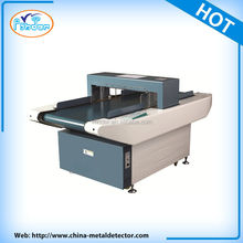conveyor belt broken needle metal detector for textile industry.needle detector for garment industry