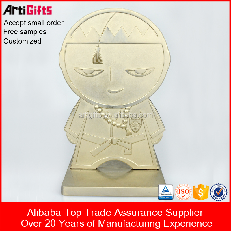 Trophy Making Supplies Good Quality metal trophy cup parts Trophy Plate