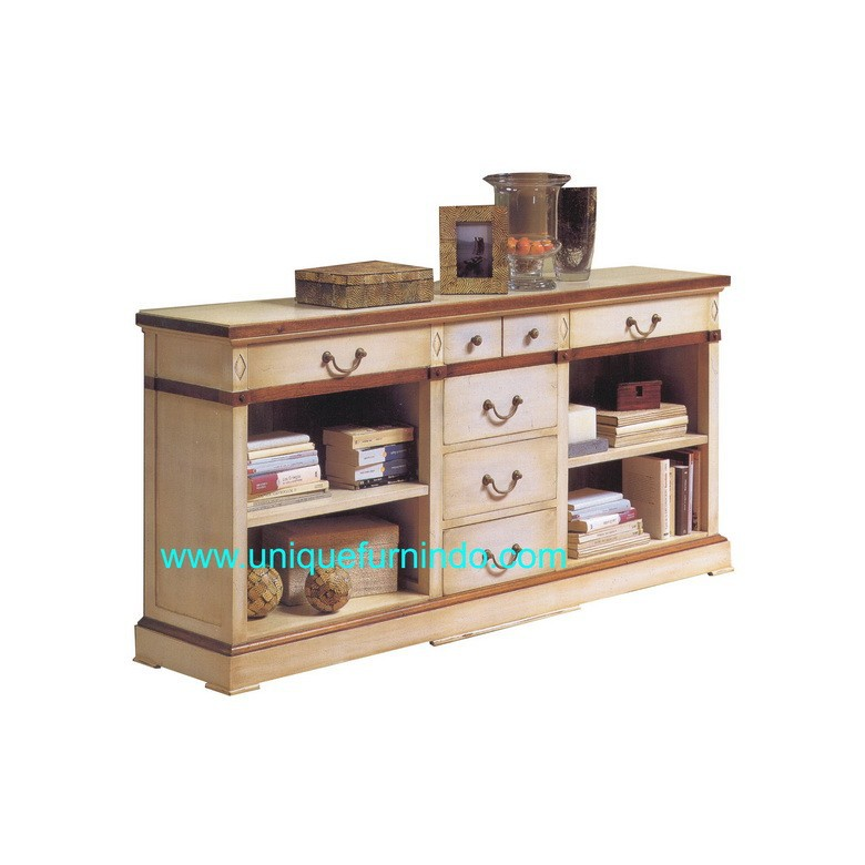 Kitchen Cabinet - Antique Reproduction Furniture - French Buffet - Indonesia Furniture