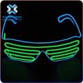 christmas Glow Glasses/EL Sunglasses and Lighting Up Glasses Neon Glow Glasses , led sunglasses