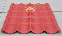 soundproof europe style 2 layers pvc roof tile asa synthetic resin roof tile