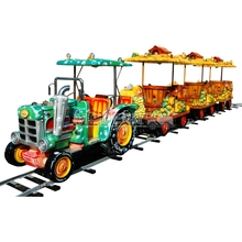 China Manufacturer Electric German Model Trackless Train