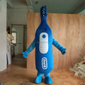 HOLA blue toothbrush mascot/custom mascot costumes for sale