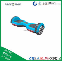 ul2272 Freeman 2016 new cheap 6.5inch 2 wheel hoverboard wih bluetooth electric scooter motorcycle for all people